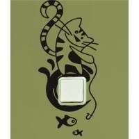 Cat Priz Sticker PR12