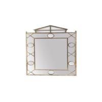 Cemile Altın Çatılı Ayna 106x71 Cm