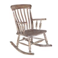 Maxxdepo Little Rock Grey Wash Sallanan Sandalye