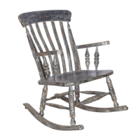 Maxxdepo Little Rock Gri Sallanan Sandalye