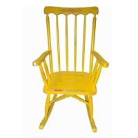 Maxxdepo Little Rock Sarı Sallanan Sandalye