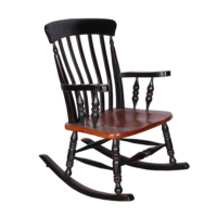 Maxxdepo Little Rock Siyah Sallanan Sandalye