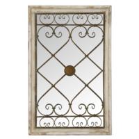 Wenge Home Masif Mango Wood Ayna 57.5x5x90.5 Cm