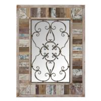 Wenge Home Masif Mango Wood Ayna 76.5x4.5x104 Cm