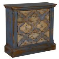 Wenge Home Masif Mango Wood Konsol 93x35x89 Cm