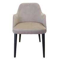 Maxxdepo New Comfort Bej Kolçaklı Sandalye
