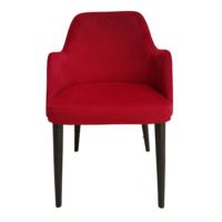 Maxxdepo New Comfort Kırmızı Kolçaklı Sandalye