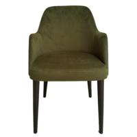 Maxxdepo New Comfort Yeşil Kolçaklı Sandalye