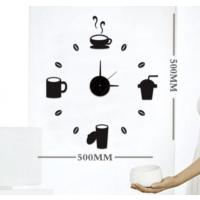 Dıy Clock Yeni Nesil 3D Duvar Saati Mini Model 4