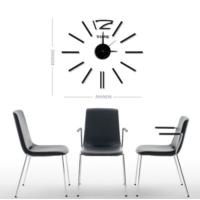 Dıy Clock Yeni Nesil 3D Duvar Saati Mini Model 6