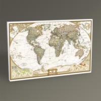 Tablo 360 Dünya Siyasi Haritası Tablo 45X30
