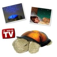 Cix Renk Değiştiren Müzikli Kaplumbağa Projeksiyon Gece Lambası Yeşil