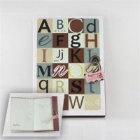 Alfabenin Dili Renkli Not Defteri Günlük -Şifre Kilitli