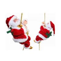 KullanAtMarket İpe Tırmanan Noel Baba 20cm