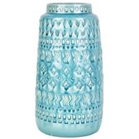 Karaca Home Kalli Vazo 33 Cm D. Blue