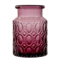 Karaca Home Miranda Vazo Kısa 20 Cm Purple