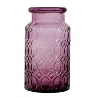 Karaca Home Miranda Vazo Uzun 25 Cm Purple