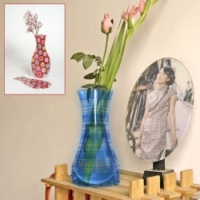 Hediye Paketim Plastik Katlanabilir Vazo