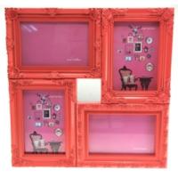 Gp Renkli 4'lü Çerçeve 10 x 15 cm Rose
