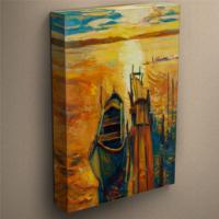CanvasTablom T113 Yağlı Boya Sandal Kanvas Tablo