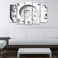 CanvasTablom B211 Clock Parçalı Tablo