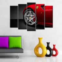 CanvasTablom B217 Ferrari Parçalı Tablo