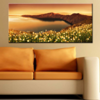 CanvasTablom Pnr88 Manzaralı Panoramik Tablo