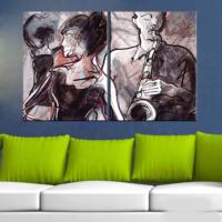 CanvasTablom İ313 Modern Art Parçalı Tablo