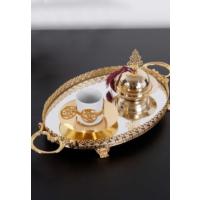 ModaStra Tekli Kahve Seti Altın 29 Cm