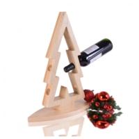 Purupa Yılbaşı Hediyelik Ahşap Şarap Standı Şaraplık