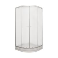 Magna 100 x 100 Temperli Dekoratif Cam Kabin + Akrilik Oval Tekne
