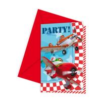 Tahtakale Toptancısı Planes Parti Davetiyesi (6 Adet)