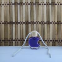 Tahtakale Toptancısı Cam Şişe Ahşap Kapaklı İpli Apple Modeli (50 Adet)