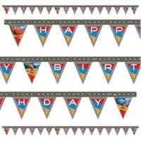 Tahtakale Toptancısı Cars Happy Birthday Uzar Harf Afiş Duvar Yazısı
