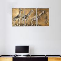 3 Parça Zürefalar Kanvas Tablo 30x63 cm