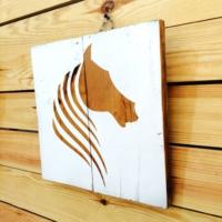 Oldwooddesign Horse Mane Tablo