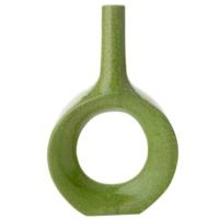 Evdema Yeşil Modern Stil Vazo