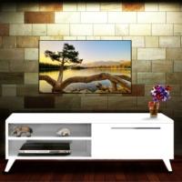 Nur Mobilya 140 cm Polen Tv Sehpası Beyaz