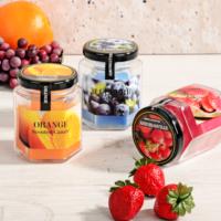 Royal Windsor Cam Kavanoz İçinde Meyve Kokulu Mum