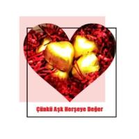 Toptancı Amca Sevgililer Günü Sevgiliye Kalp Kutu Çikolata Full Kaliteli Arajman