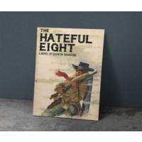 Javvuz The Hateful Eight - Metal Poster