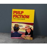 Javvuz Pulp Fiction - Metal Plaka Poster