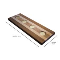B&M Design Mumluk Lamine (Teak-Ladin)
