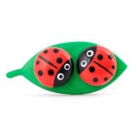 Kikkerland Ladybug Contact Lens Case - Uğurböceği Lens Kabı