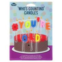 Npw Doğum Günü Mumları - #You'Re Old