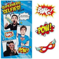 Npw Selfie Kit Superheroes - Süper Kahramanlar - Selfie Kiti