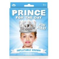 Npw Günün Prensi - Prince For The Day - Şişme Prens Tacı