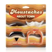 Npw Parti Bıyık Seti - Kasaba Bıyıkları - Moustaches About Town