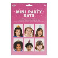 Npw Kids Mini Party Hats - Gırls - Mini Parti Şapkaları - Kız Çocuk