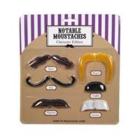 Npw Notable Moustaches - Parti Bıyıkları - Ünlü Karakterler